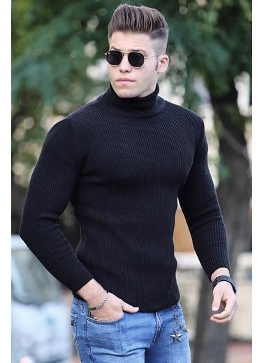 Madmext Kazak Siyah